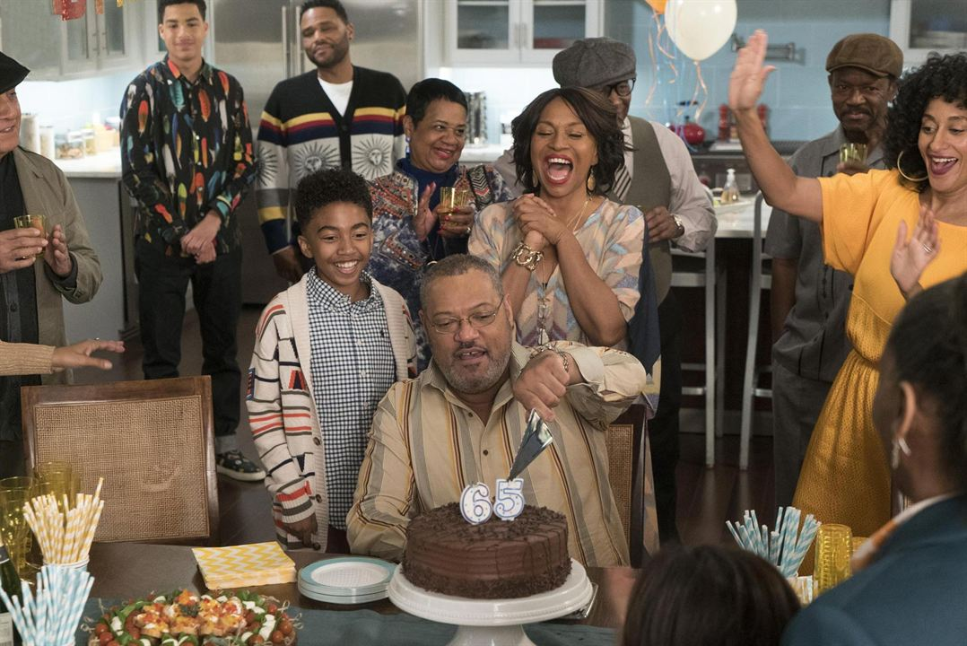Photo Anthony Anderson, Jenifer Lewis, Laurence Fishburne, Marcus Scribner, Miles Brown