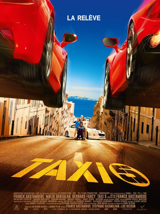 Taxi 5 : Affiche