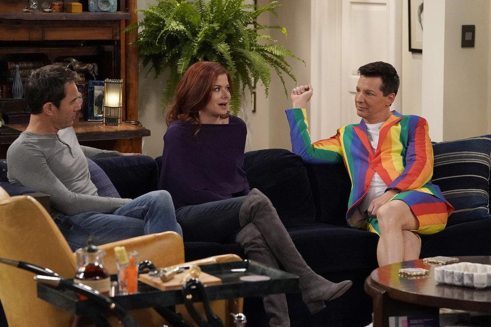Photo Debra Messing, Eric McCormack, Sean Hayes