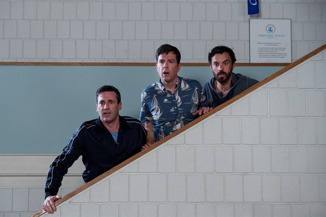 Tag : Photo Ed Helms, Jake Johnson (XVI), Jon Hamm