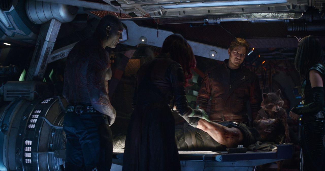 Avengers: Infinity War : Photo Chris Hemsworth, Chris Pratt, Dave Bautista