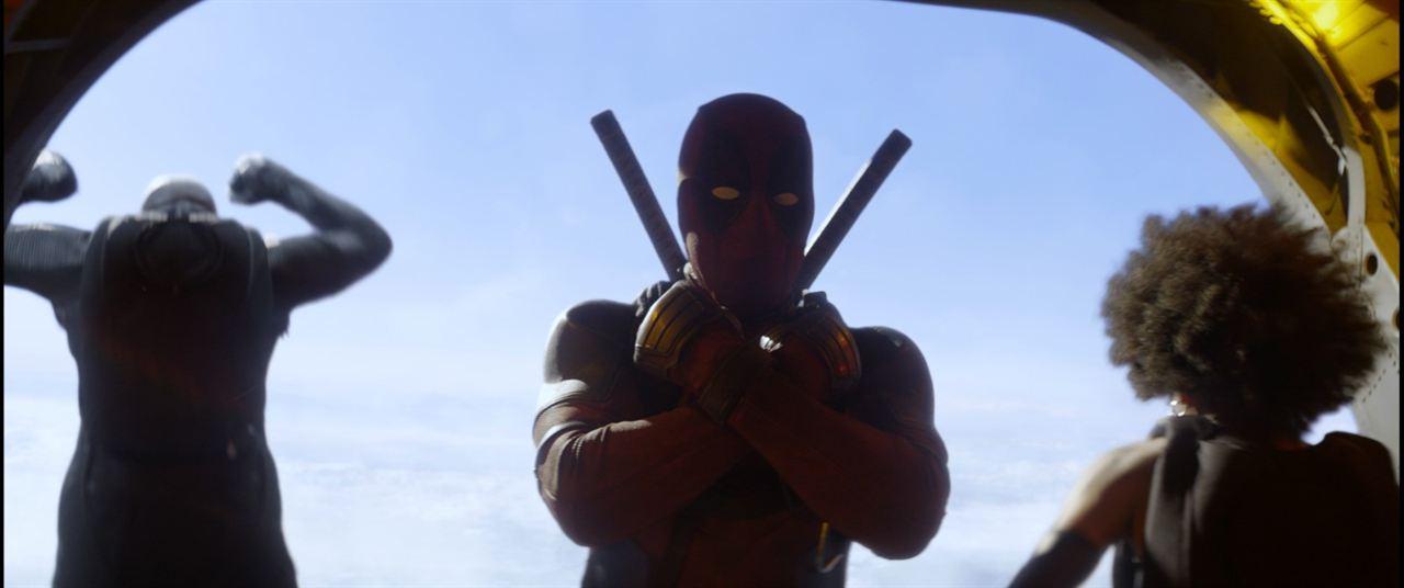 Deadpool 2 : Photo Ryan Reynolds, Zazie Beetz