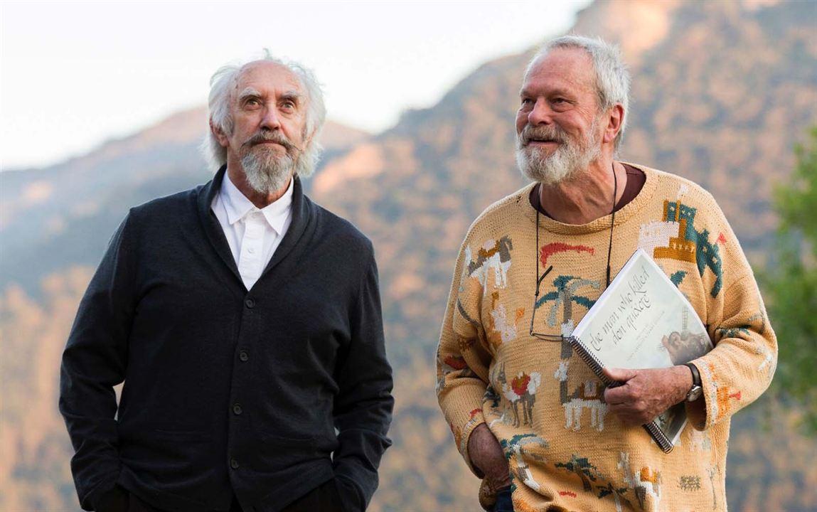 L'Homme qui tua Don Quichotte : Photo Jonathan Pryce, Terry Gilliam