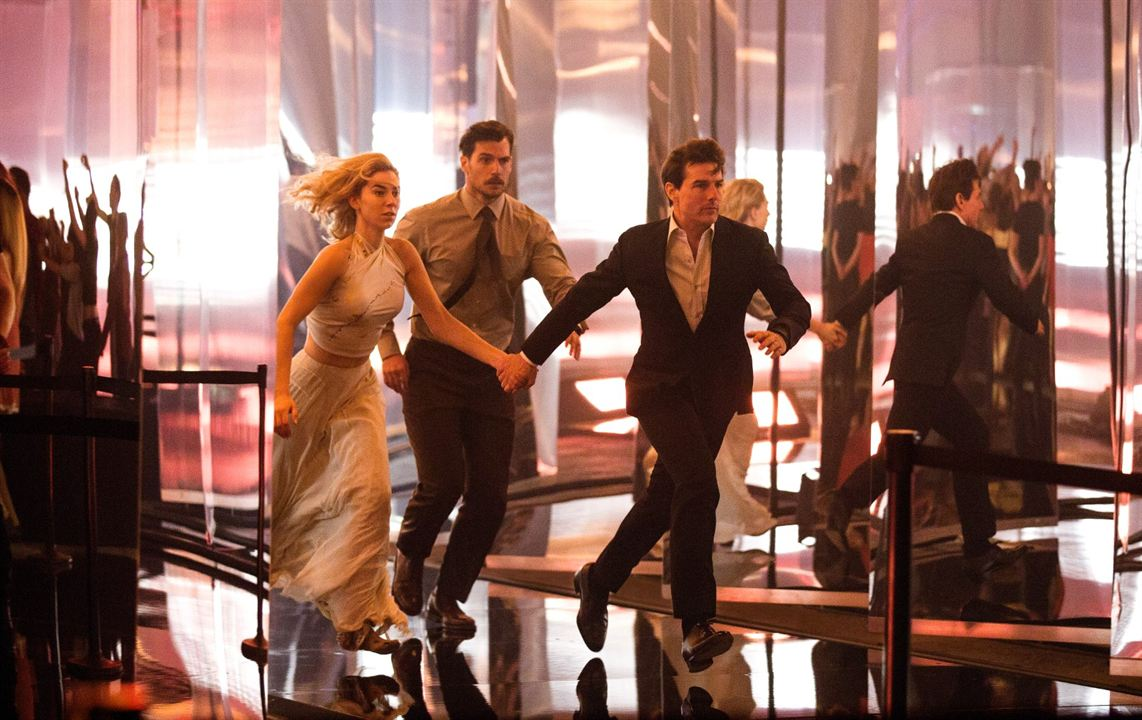 Mission Impossible - Fallout : Photo Henry Cavill, Tom Cruise, Vanessa Kirby