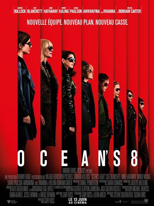 Ocean's 8 : Affiche
