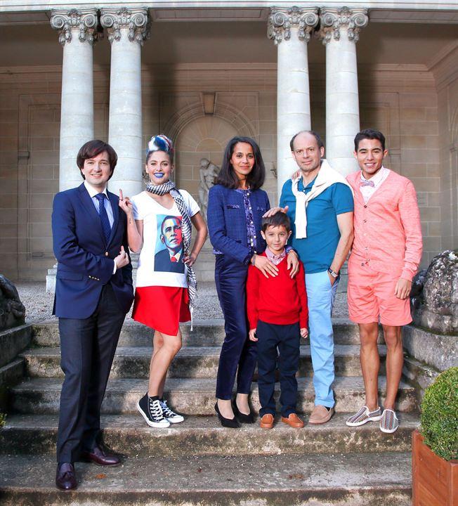 Neuilly sa mère, sa mère : Photo Chloé Coulloud, Denis Podalydès, Jérémy Denisty, Samy Seghir, Sophia Aram