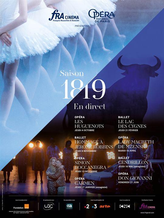 Hommage à Jerome Robbins (Opéra de Paris-FRA Cinéma) : Affiche
