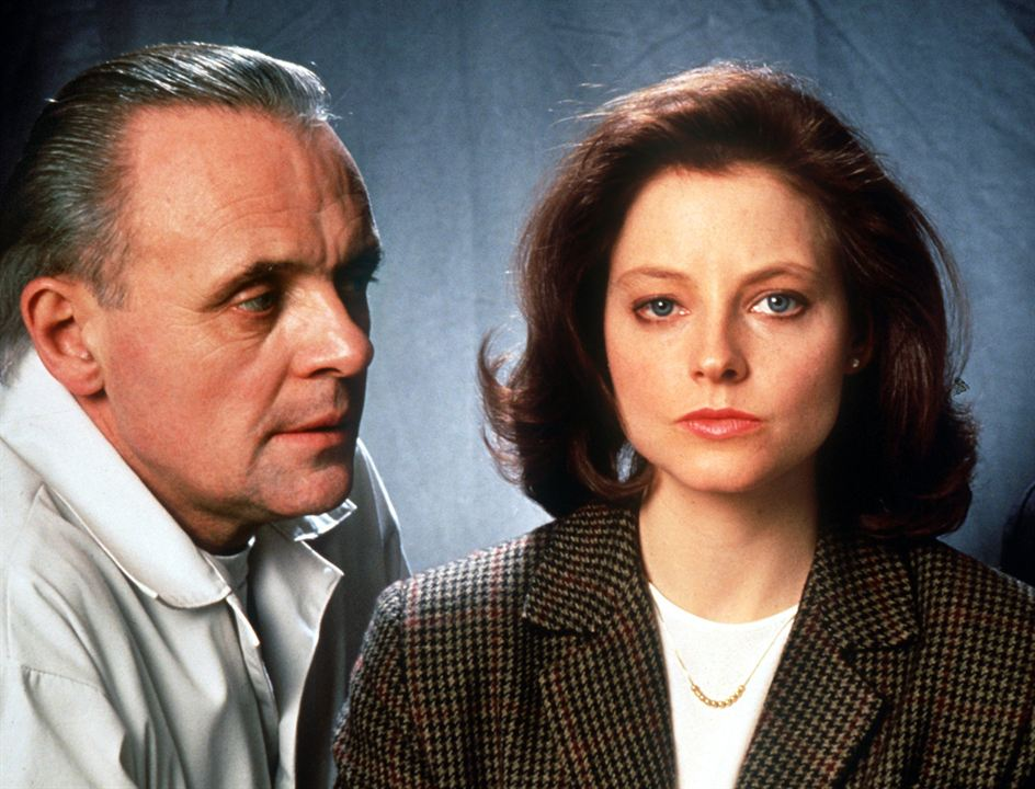 Le Silence des agneaux : Photo Anthony Hopkins, Jodie Foster