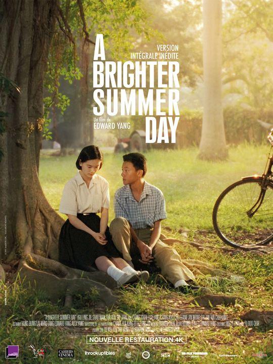 A Brighter Summer Day : Affiche