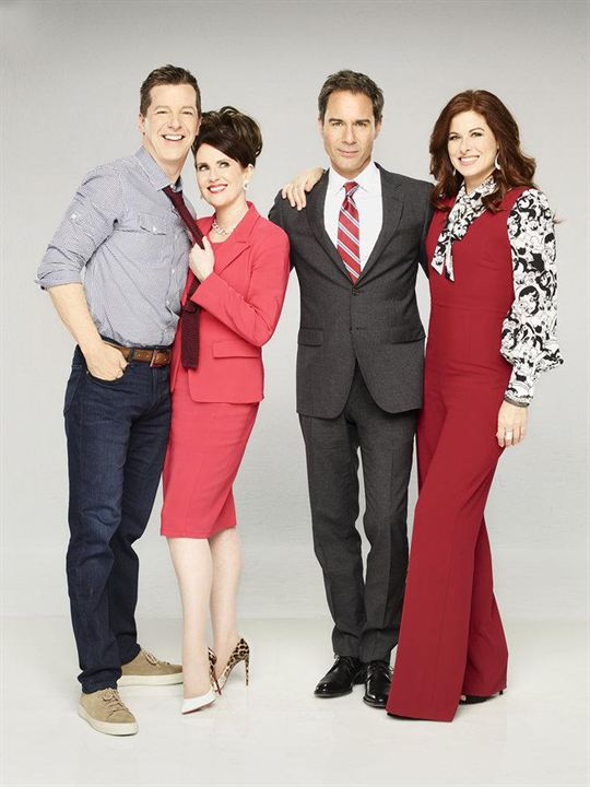 Photo Debra Messing, Eric McCormack, Megan Mullally, Sean Hayes
