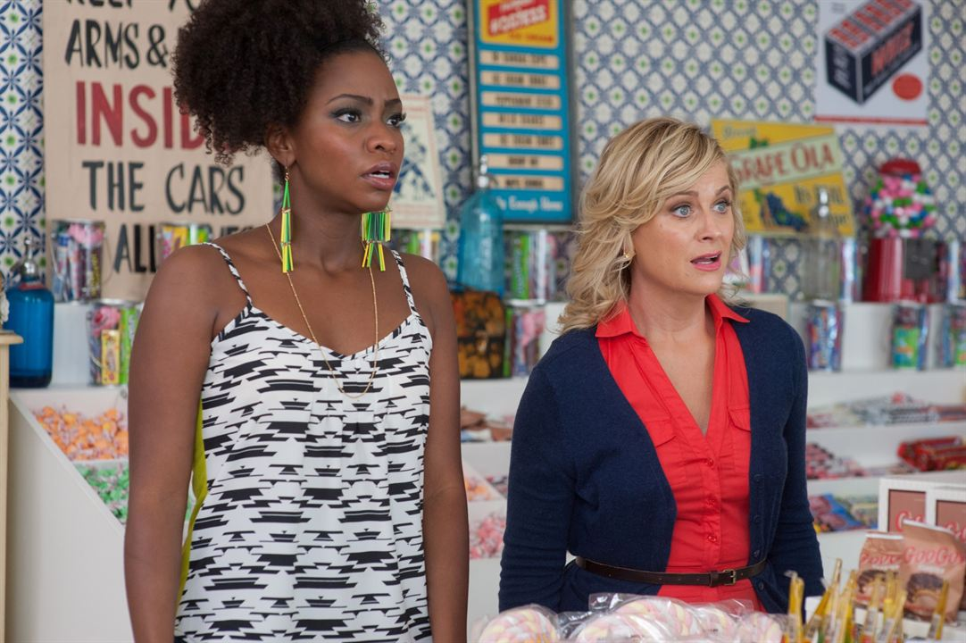 They Came Together : Photo Amy Poehler, Teyonah Parris