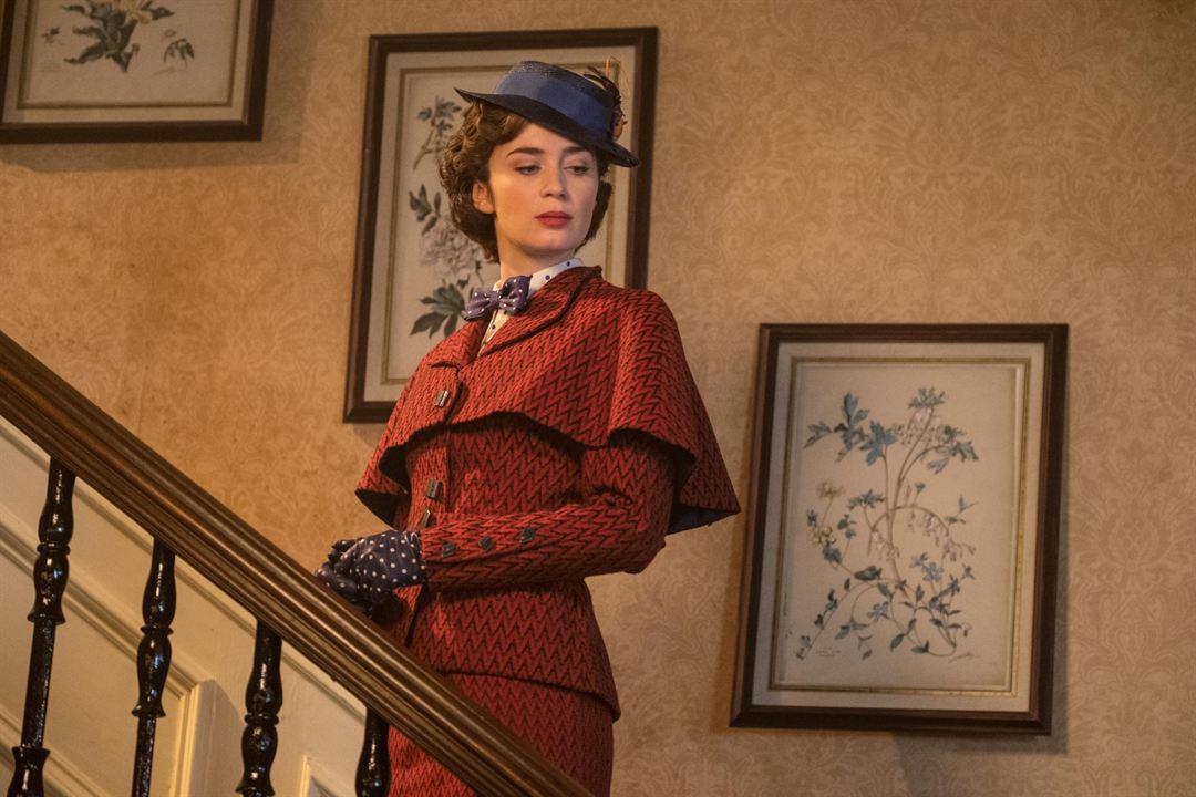 Le Retour de Mary Poppins : Photo Emily Blunt