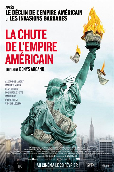La Chute de l'Empire américain : Affiche