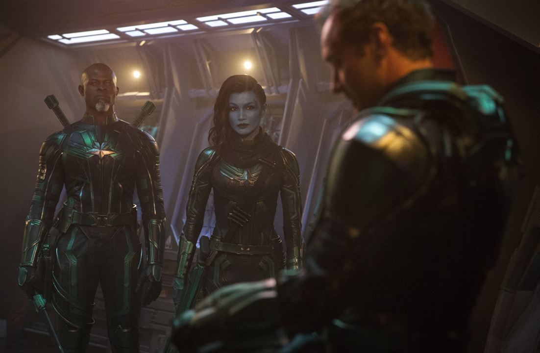Captain Marvel : Photo Djimon Hounsou, Gemma Chan, Jude Law