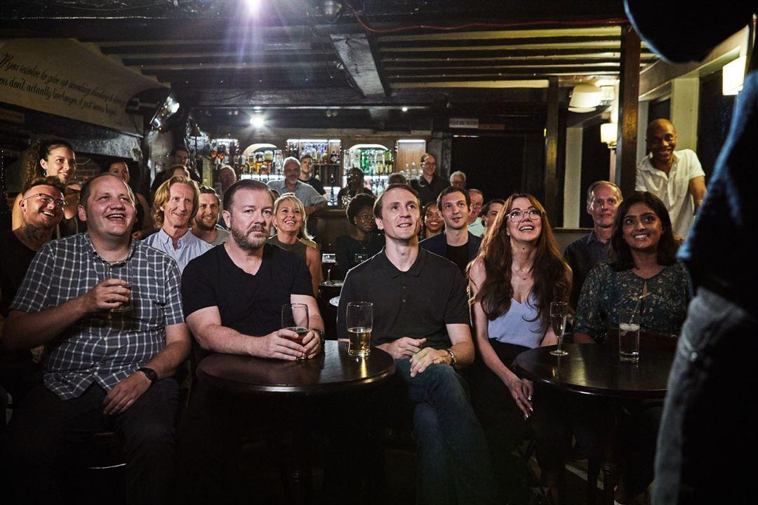 Photo Diane Morgan, Mandeep Dhillon, Ricky Gervais, Tom Basden, Tony Way