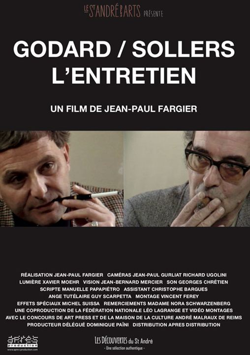 Godard / Sollers: L'entretien : Affiche