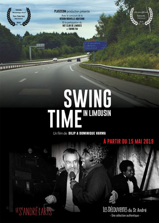 Swing Time in Limousin : Affiche