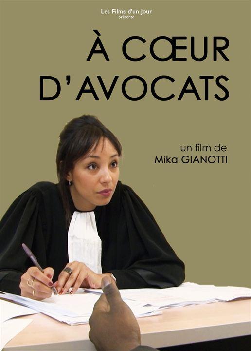 A coeur d'avocats : Affiche
