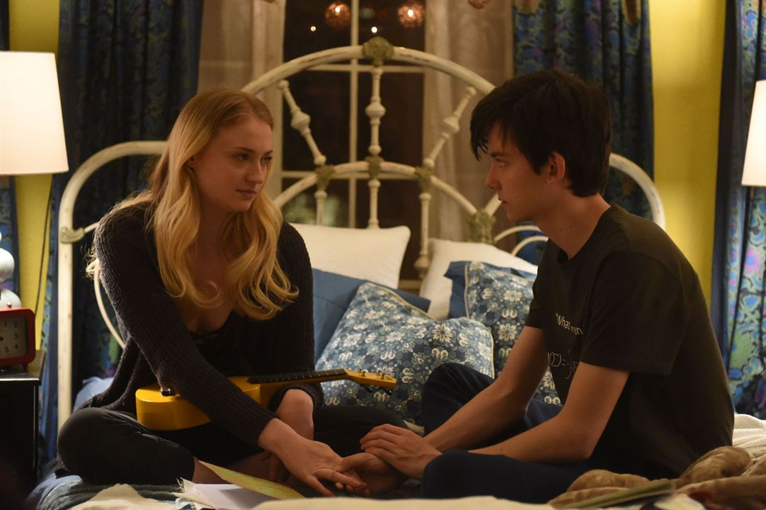 Time lovers : Photo Asa Butterfield, Sophie Turner