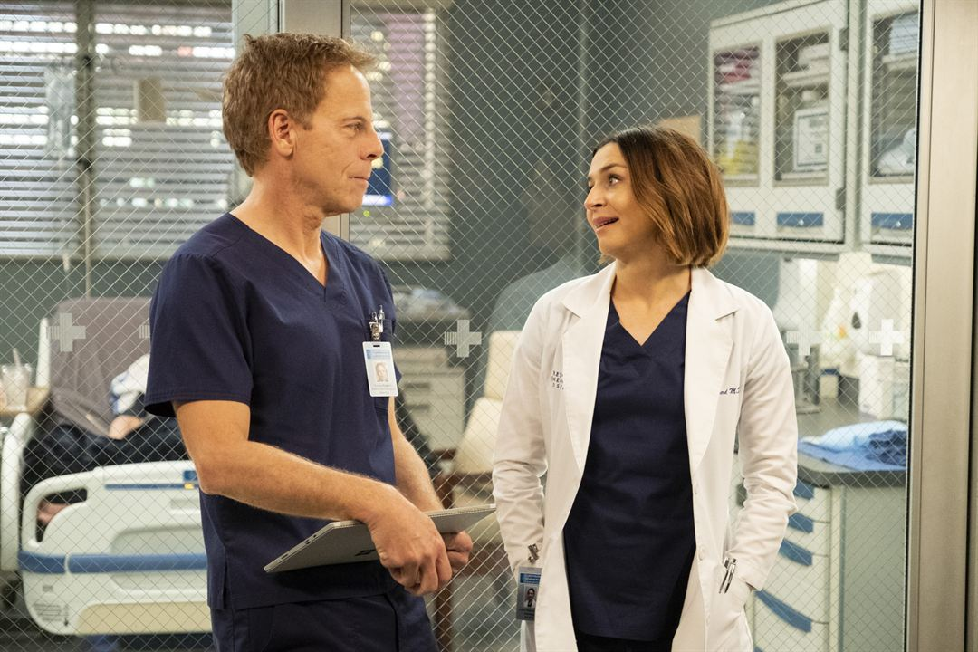 Photo Caterina Scorsone, Greg Germann