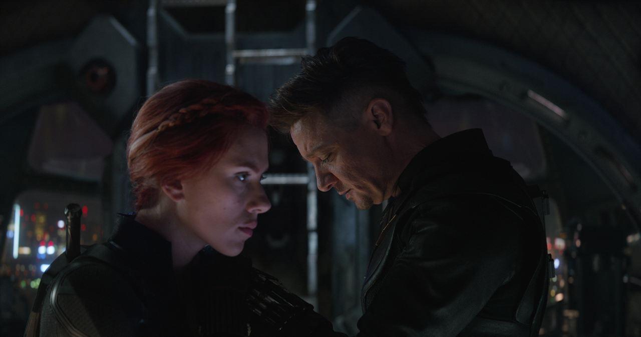 Avengers: Endgame : Photo Jeremy Renner, Scarlett Johansson