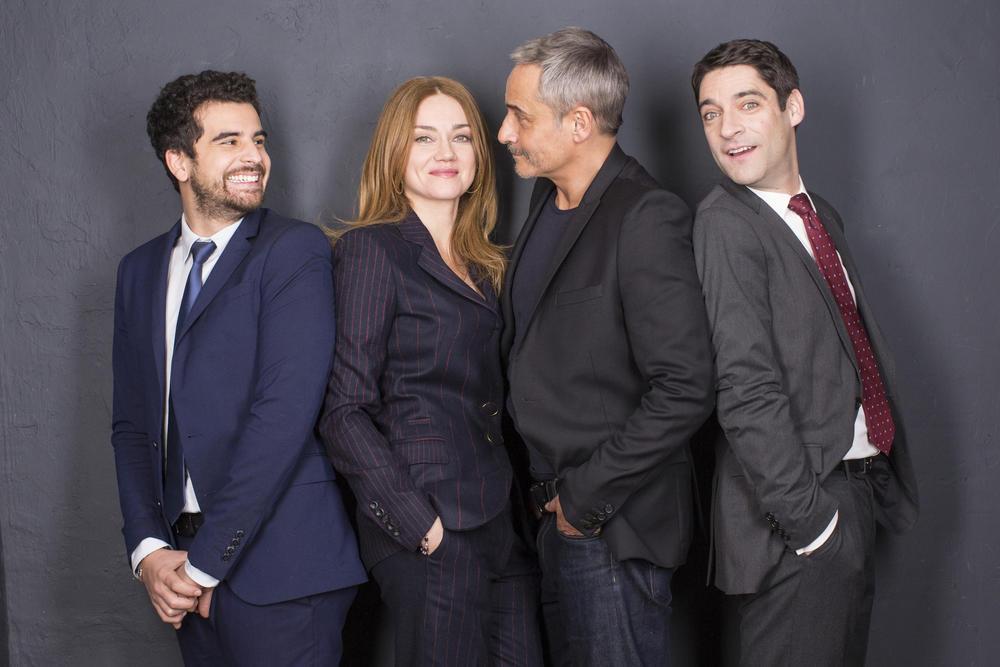 Photo Gary Mihaileanu, Jean-Michel Tinivelli, Loïc Legendre, Marine Delterme