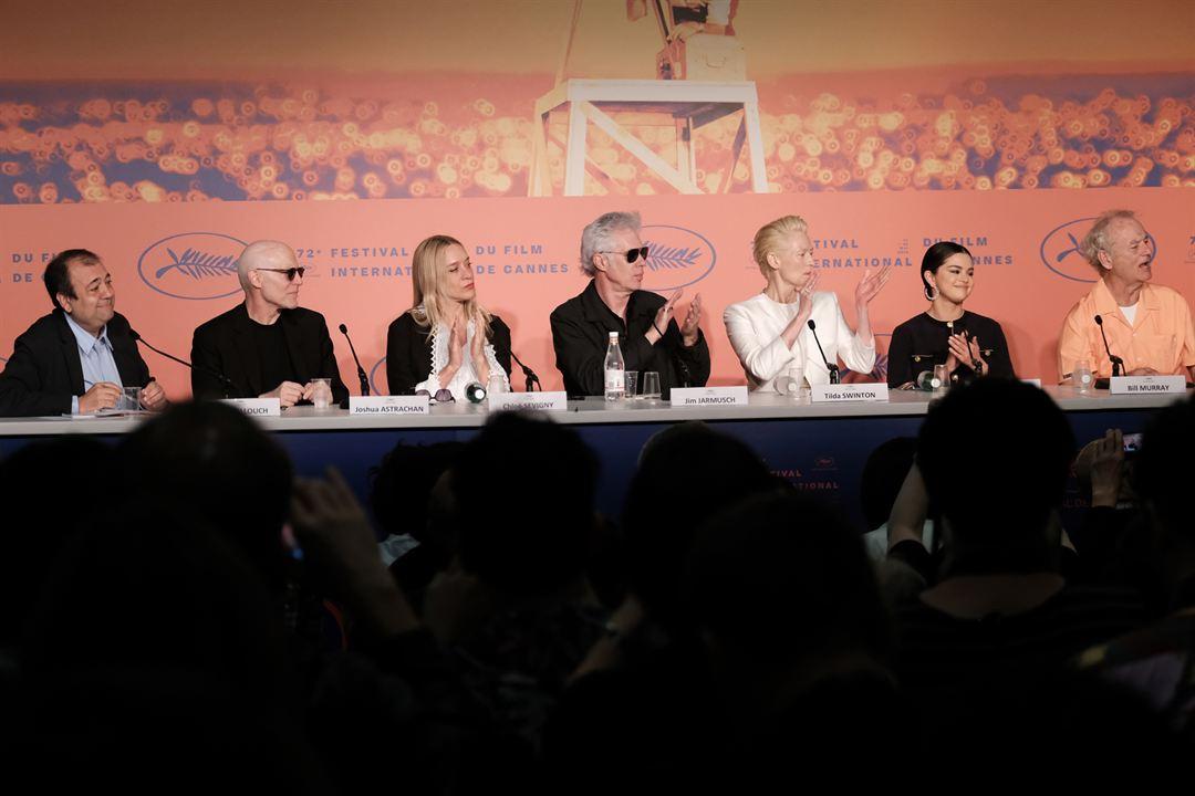 The Dead Don't Die : Photo promotionnelle Bill Murray, Chloë Sevigny, Jim Jarmusch, Joshua Astrachan, Selena Gomez