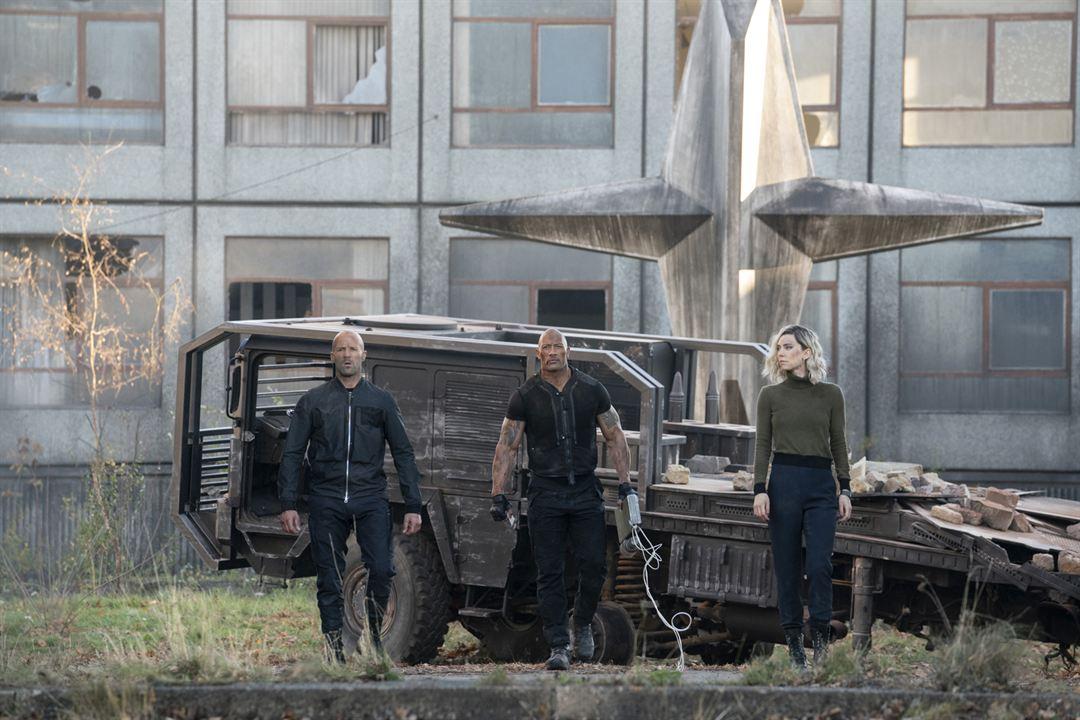 Fast & Furious : Hobbs & Shaw : Photo Dwayne Johnson, Jason Statham, Vanessa Kirby