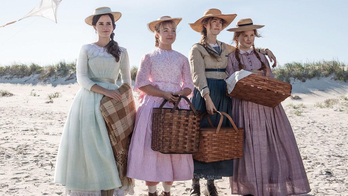 Les Filles du Docteur March : Photo Eliza Scanlen, Emma Watson, Florence Pugh, Saoirse Ronan