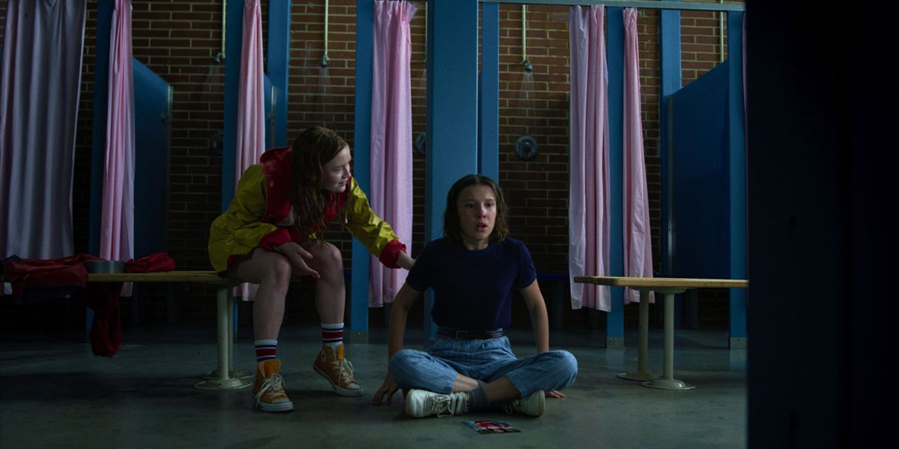 Photo Millie Bobby Brown, Sadie Sink