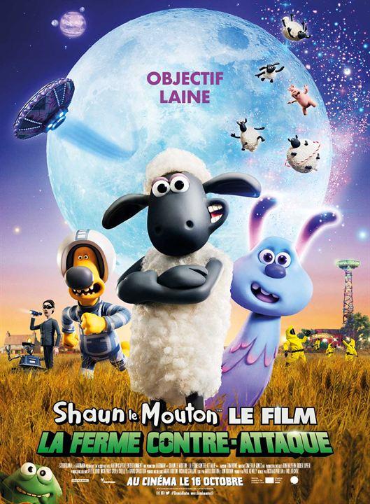Shaun le Mouton Le Film : La Ferme Contre-Attaque : Affiche