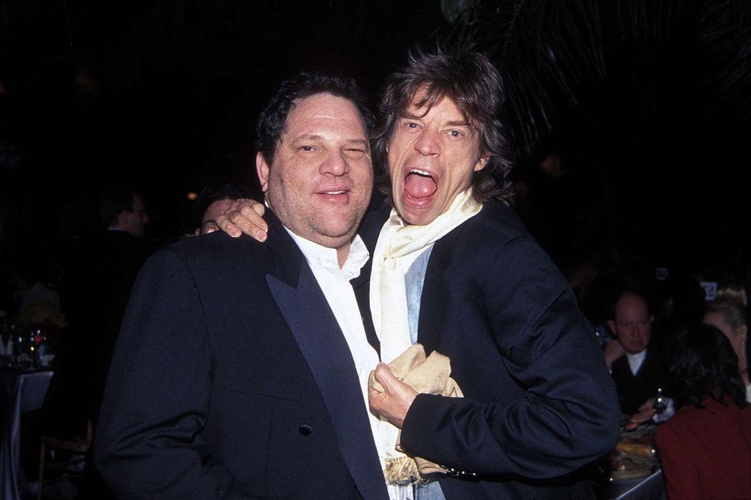 L'Intouchable, Harvey Weinstein : Photo Harvey Weinstein, Mick Jagger