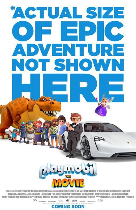 Playmobil, Le Film : Affiche