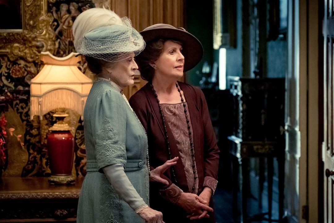 Downton Abbey : Photo Maggie Smith, Penelope Wilton