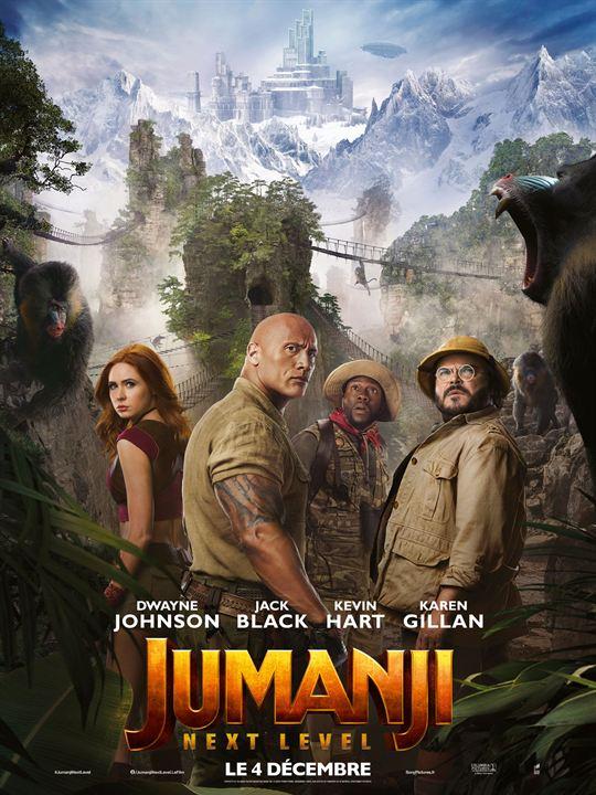 Jumanji: next level : Affiche
