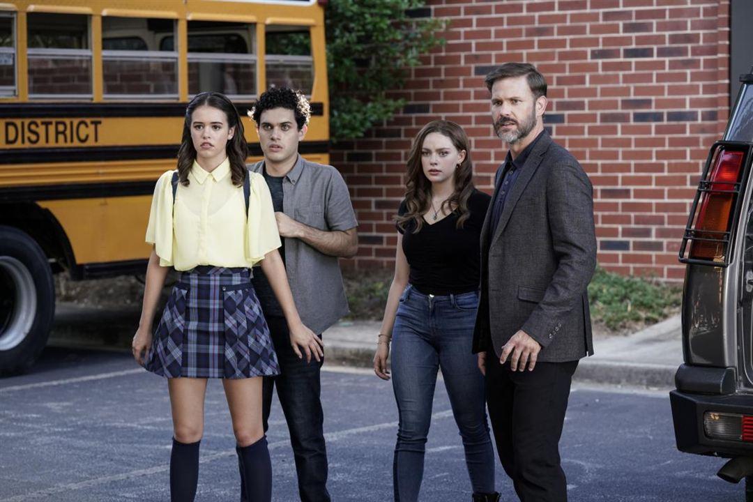 Photo Aria Shahghasemi, Danielle Rose Russell, Kaylee Bryant, Matthew Davis