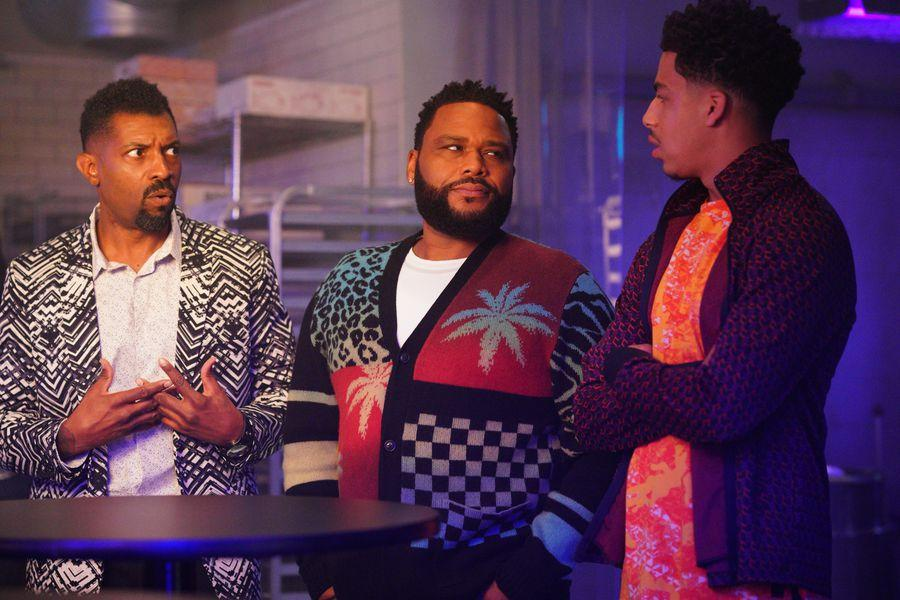 Photo Anthony Anderson, Deon Cole, Marcus Scribner
