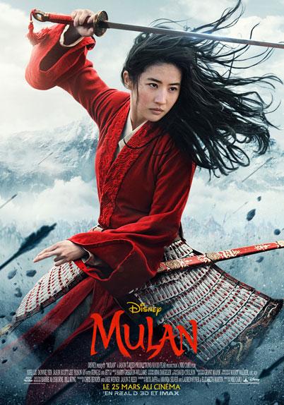 Mulan : Affiche