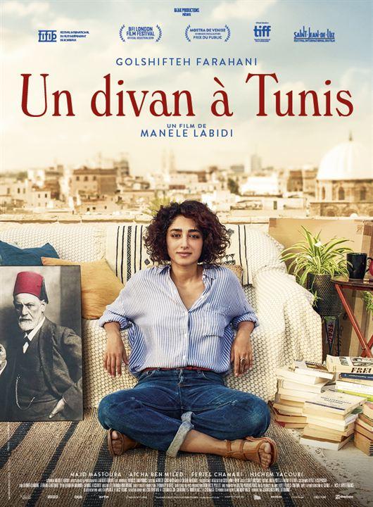 Un divan à Tunis : Affiche