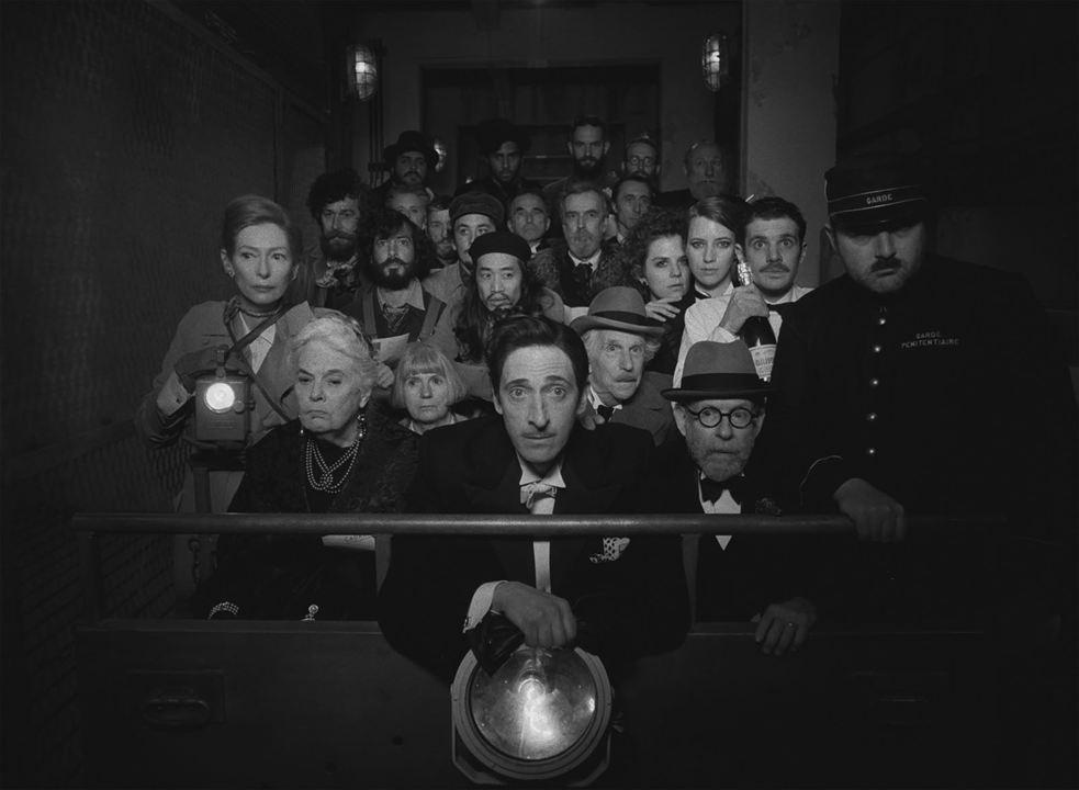 The French Dispatch : Photo Adrien Brody, Bob Balaban, Henry Winkler, Lois Smith, Tilda Swinton