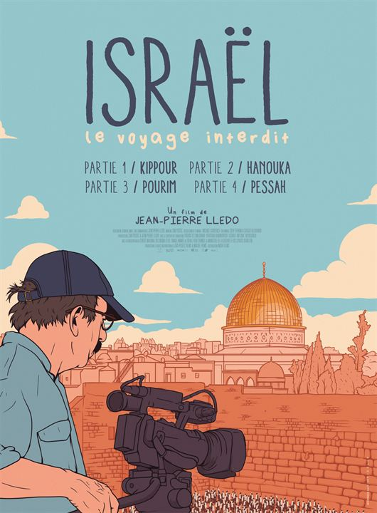 Israël, le voyage interdit - Partie I : Kippour : Affiche