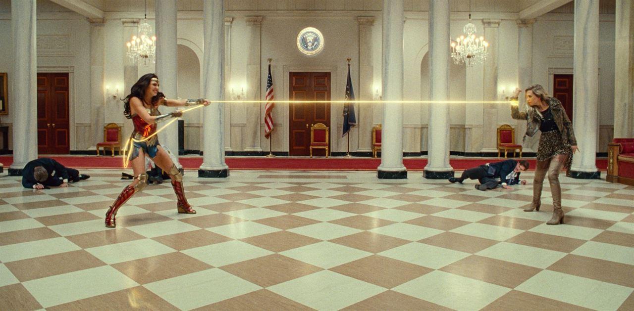 Wonder Woman 1984 : Photo Gal Gadot, Kristen Wiig