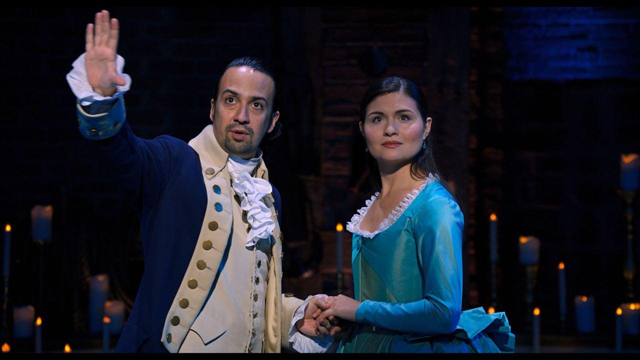 Hamilton : Photo Lin-Manuel Miranda, Phillipa Soo