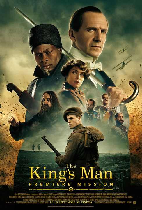 The King's Man : Première Mission : Affiche
