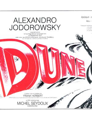 Jodorowsky's Dune : Affiche