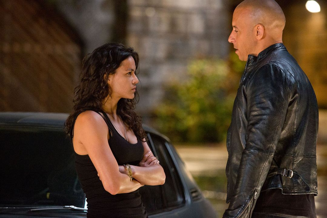 photo de vin diesel fast furious 6 photo michelle rodriguez vin diesel allocin. Black Bedroom Furniture Sets. Home Design Ideas