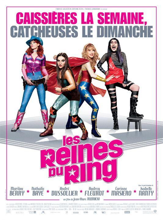 Les Reines du ring : Affiche
