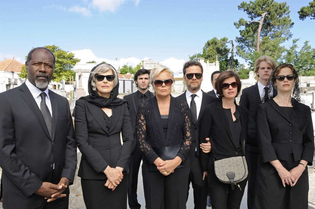 Photo Christopher Thompson, Claire Nebout, Fanny Ardant, Jérôme Kircher, Muriel Robin