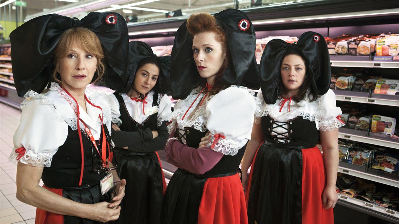 Les Reines du ring : Photo Audrey Fleurot, Marilou Berry, Nathalie Baye