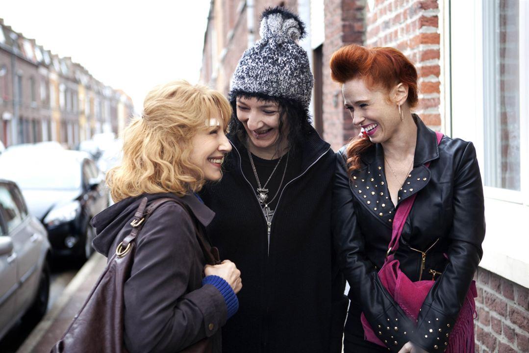 Les Reines du ring : Photo Audrey Fleurot, Corinne Masiero, Nathalie Baye